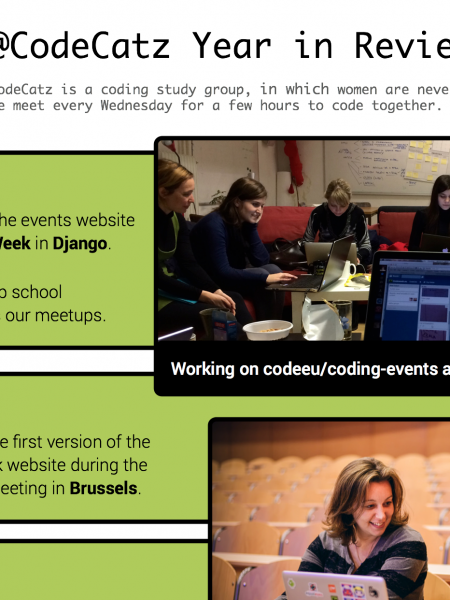 CodeCatz Year in Review 2014 Infographic