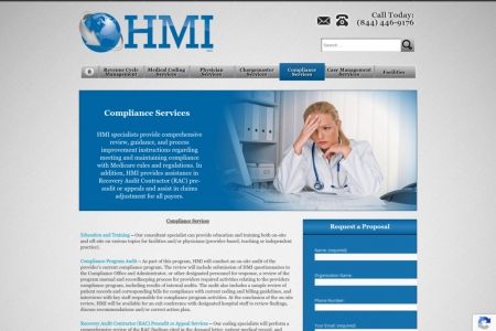 Compliance Services for Medical Providers  Infographic
