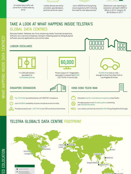 Connected Colocation: Enterprise Trends in 2013 Infographic