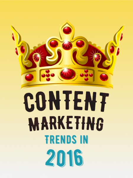 Content Marketing Trends in 2016 Infographic
