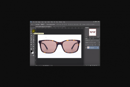 Cut Out Eyewear/ Remove Background Service in Photoshop Infographic