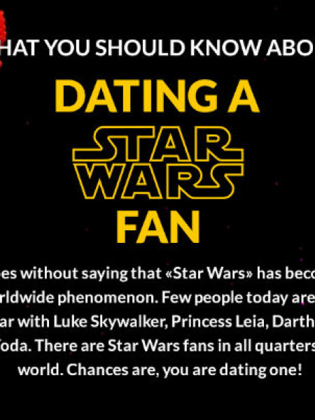 Dating a Star Wars Fan Infographic