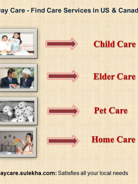 Day Care: Find Care Services in US and Canada Infographic