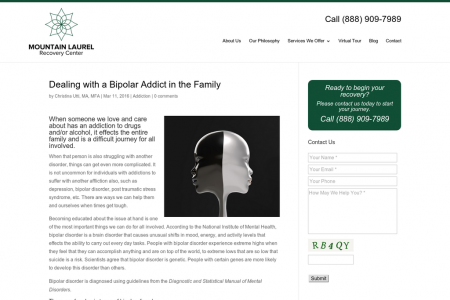 Dealing with a Bipolar Addict in the Family Infographic