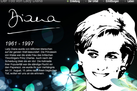 Death of Lady Diana Infographic