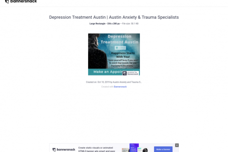 Depression Treatment Austin | Austin Anxiety & Trauma Specialists Infographic