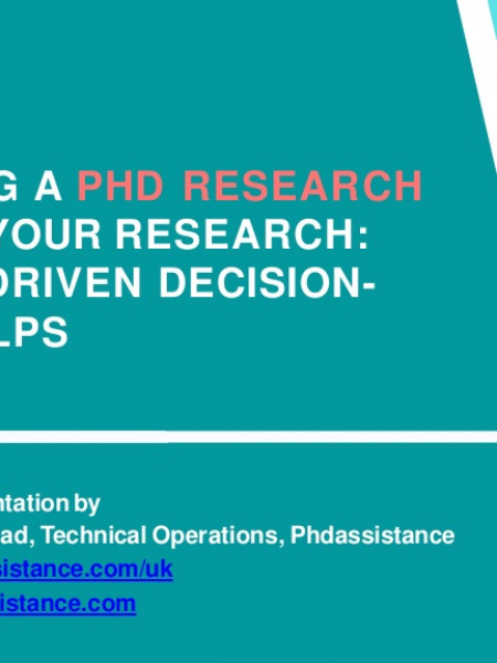 Developing a PhD Research Topic for Your Research | PhD Assistance UK Infographic
