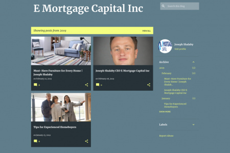 E Mortgage Capital Inc-Joseph Shalaby Infographic
