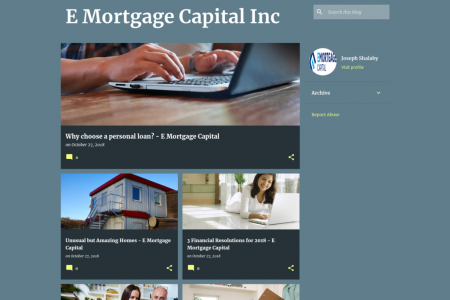 E Mortgage Capital Inc Infographic