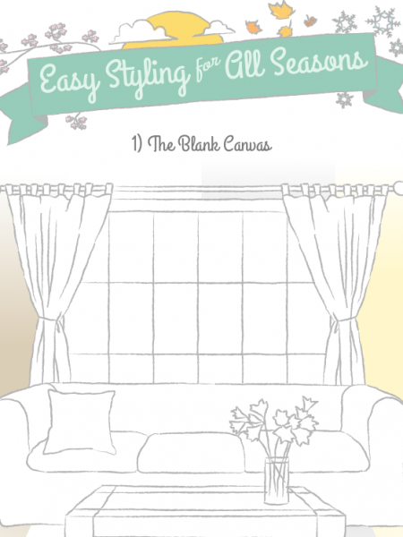 Easy Styling for All Seasons Infographic