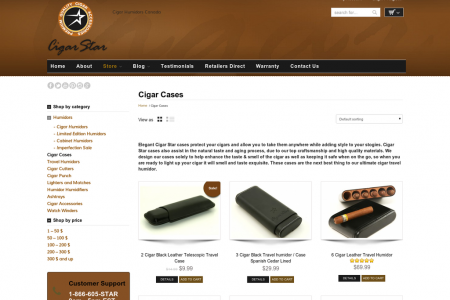 Elegant Cigar Cases  Infographic