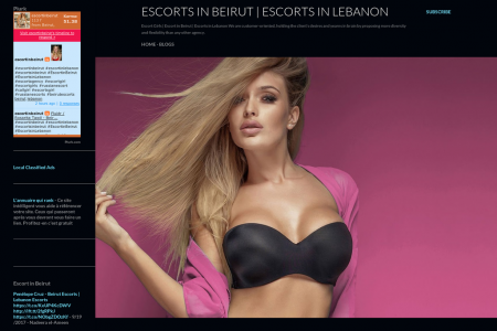Escorts in Beirut | Escort Agency in Beirut Infographic