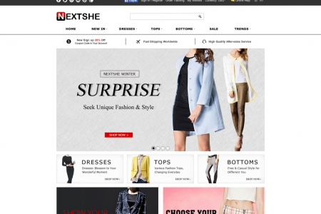 Fashion from here Infographic