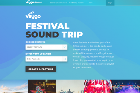 Festival Sound Trip Infographic