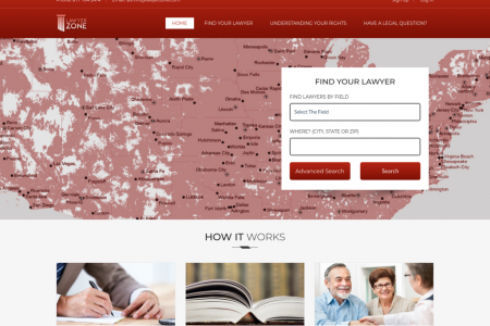 Find the Right Attorney San Antonio, Texas - Lawyerzone Infographic