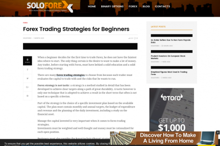 Forex Trading Industry Italy: Forex Trading Strategies for Beginners  Infographic
