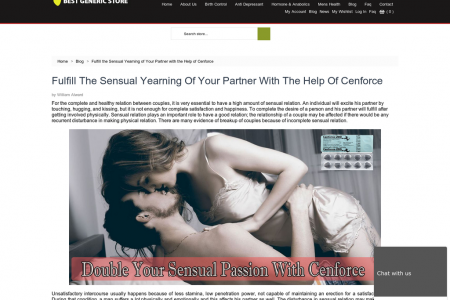 Fulfill the Sensual Yearning of Your Partner with the Help of Cenforce Infographic