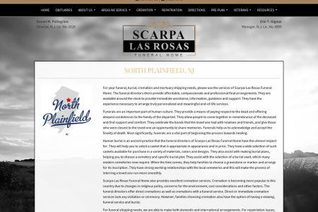 Funeral Home Service In North Plainfield, NJ Infographic