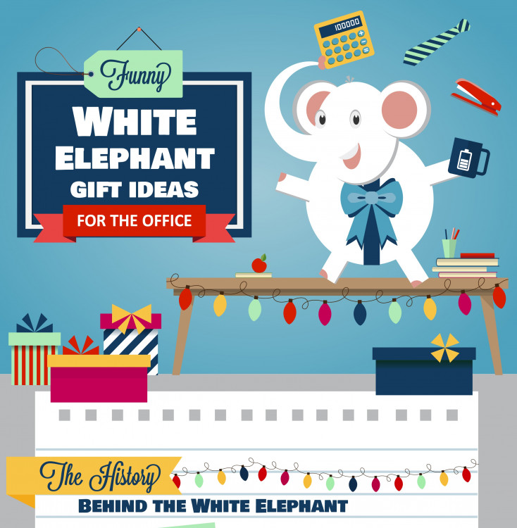 Funny White Elephant Gift Ideas For The Office Visual Ly