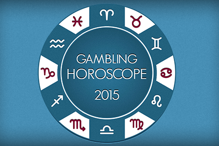 Gambling Horoscope 2015 - Lucky Horoscope INFOGRAPHIC Infographic