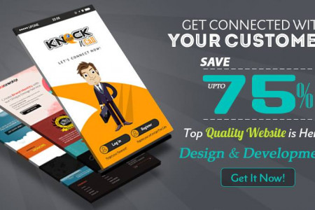 Get Website Design and Development Service - 75% OFF Infographic
