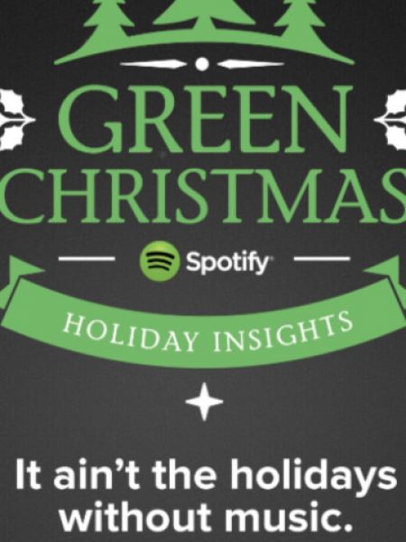 Green Christmas Infographic