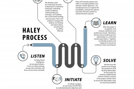Haley Process Infographic