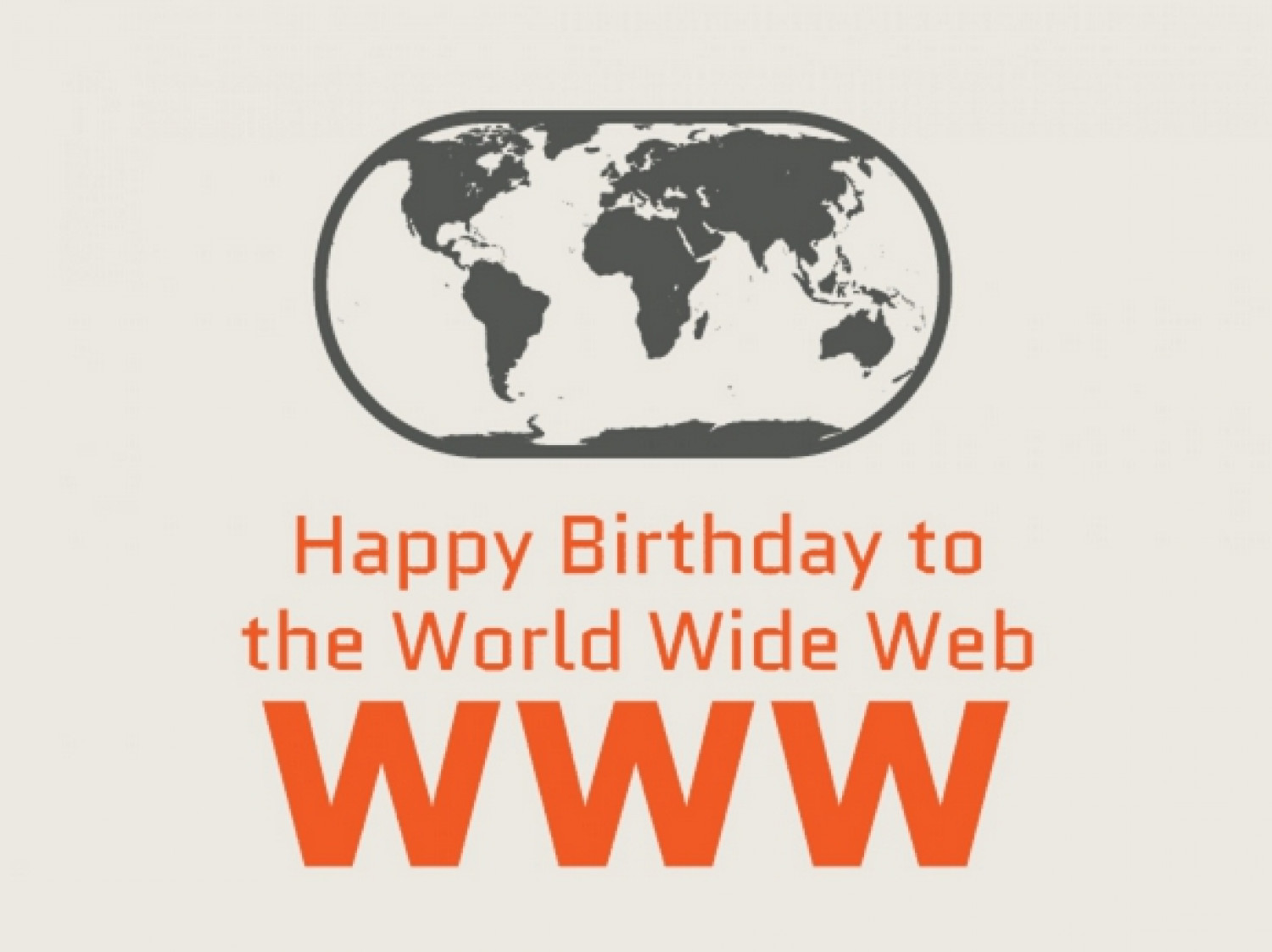 Happy Birthday to the World Wide Web Infographic