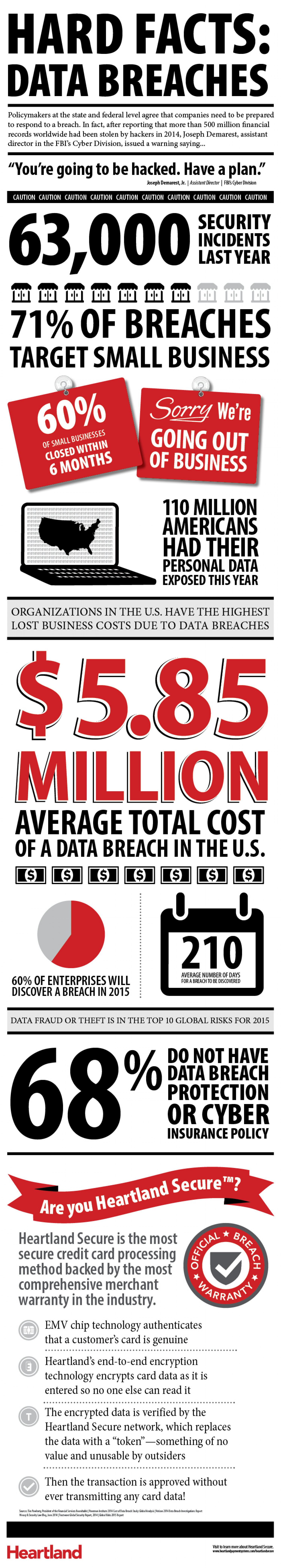 Hard Facts: Data Breaches Infographic
