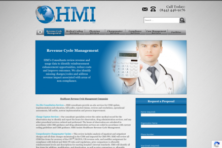 Healthcare Revenue Cycle Management Companies Infographic