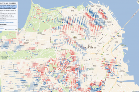 Hill Mapper San Francisco Infographic