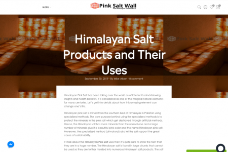 Himalayan Salt Products and Their Uses Infographic