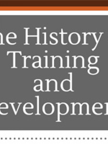 History Of Training Infographic