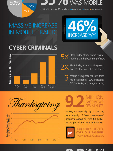 Holiday Shopping 2013 Infographic