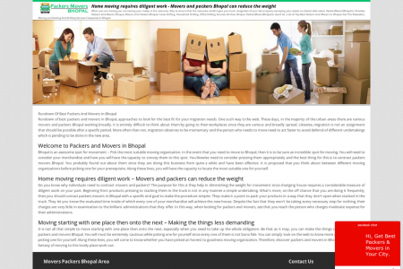 Home moving requires diligent work - Movers and packers Bhopal can reduce the weight Infographic