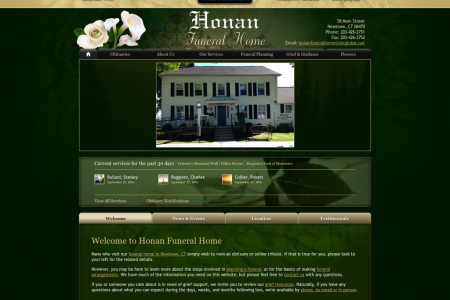 Honan Funeral Home Infographic