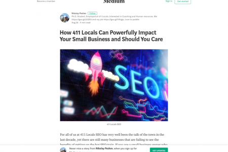 How 411 Locals Can Powerfully Impact Your Small Business and Should You Care Infographic