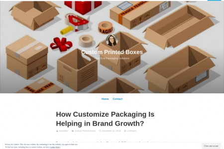 How Customize Packaging Is Helping in Brand Growth? Infographic