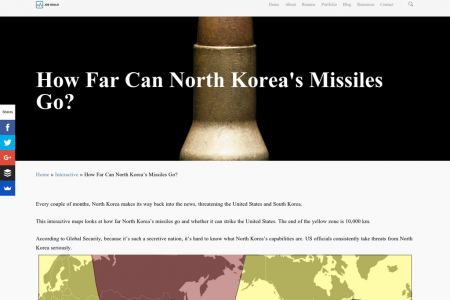How Far Can North Korea's Missiles Go? Infographic