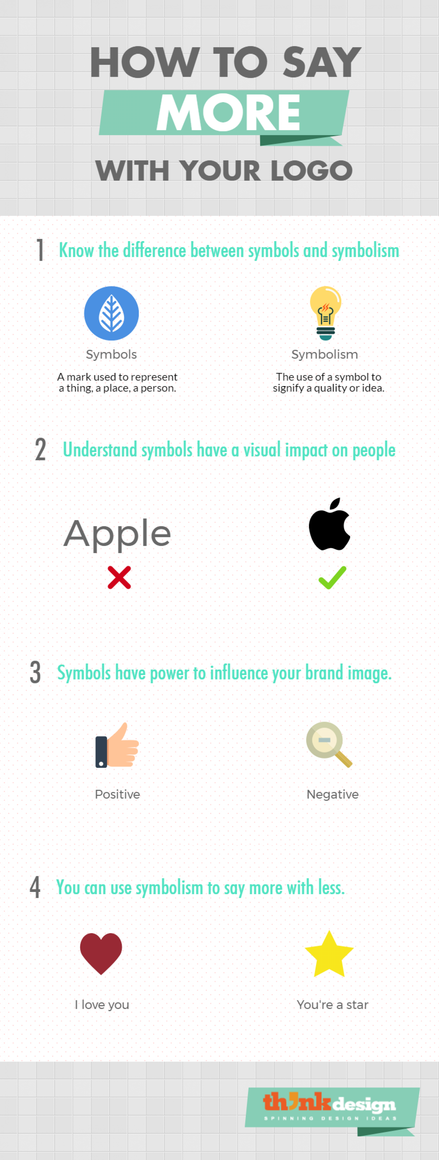 How To Say MORE With Your Logo Infographic