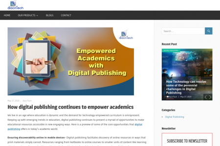 How digital publishing continues to empower academics Infographic