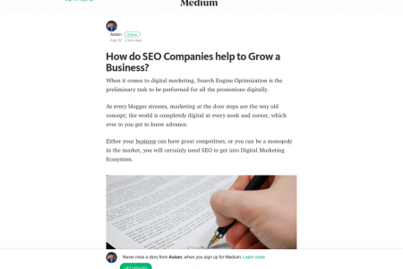 How do SEO Companies Help To Grow A Business? Infographic