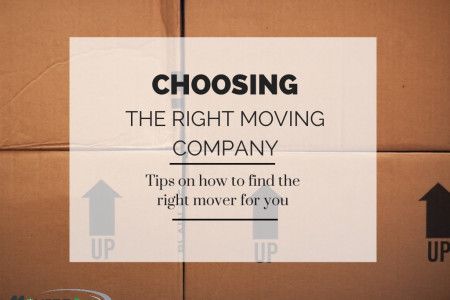 How to Choose the Right Moving Company Infographic