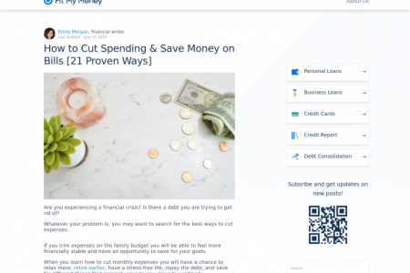 How to Cut Spending & Save Money on Bills [21 Proven Ways] Infographic