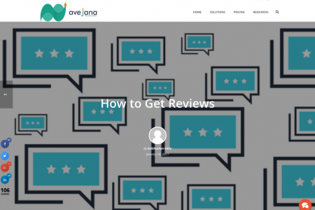 How to Get Reviews Infographic