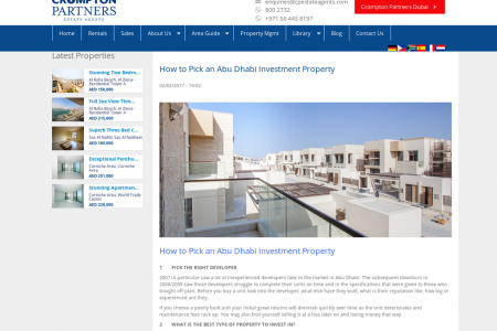 How to Pick an Abu Dhabi Investment Property Infographic