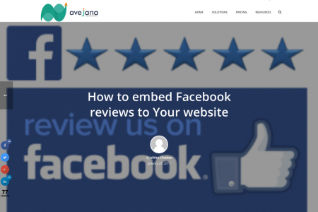How to embed Facebook reviews to Your website Infographic