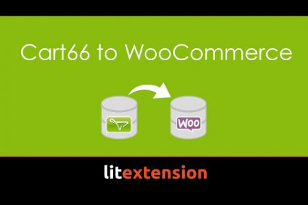 How to  export Cart66 to WooCommerce by LitExtension migration tool Infographic