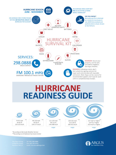 Hurricane Readiness Guide Infographic