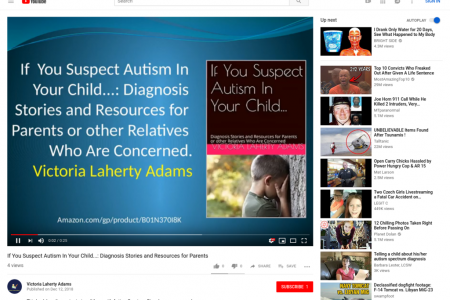 If You Suspect Autism In Your Child - Diagnosis Stories and Resources for Parents or other   Relatives Who Are Concerned Infographic